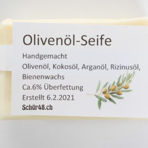 Schür48 Olivenöl-Seife als Haarshampoo oder für die Körperpflege